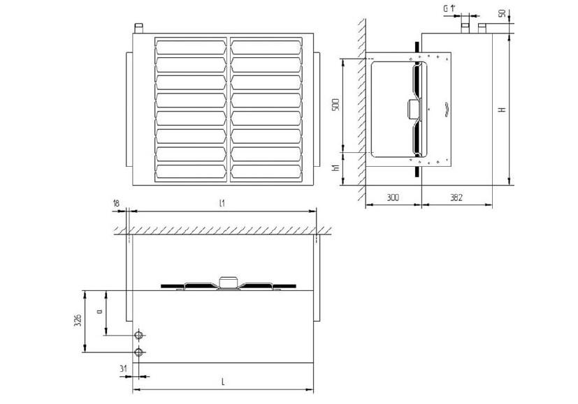 габаритные размеры и масса АВО-70, АВО-80, АВО-100