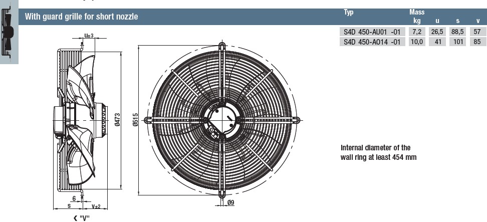 S4D450-AU01-01 габаритные размеры