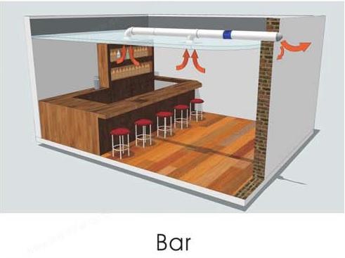 область применения канального энергосберегающего вентилятора