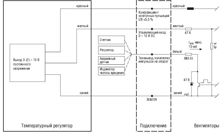 50003-1-0174 регулятор ebmpapst схема подключения