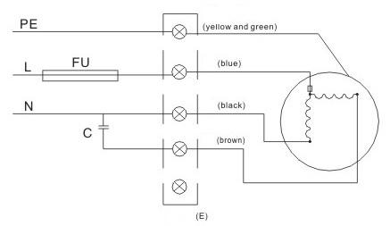 электрическая схема вентилятора улитка ventstal 200