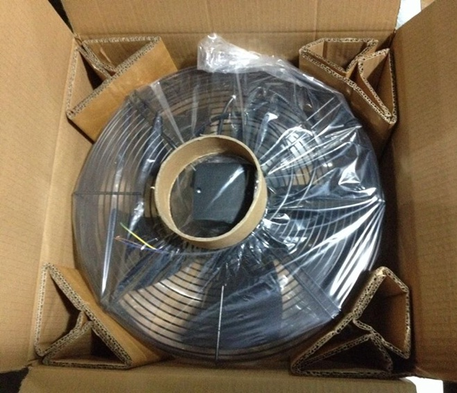 YWF осевой вентилятор упаковка
