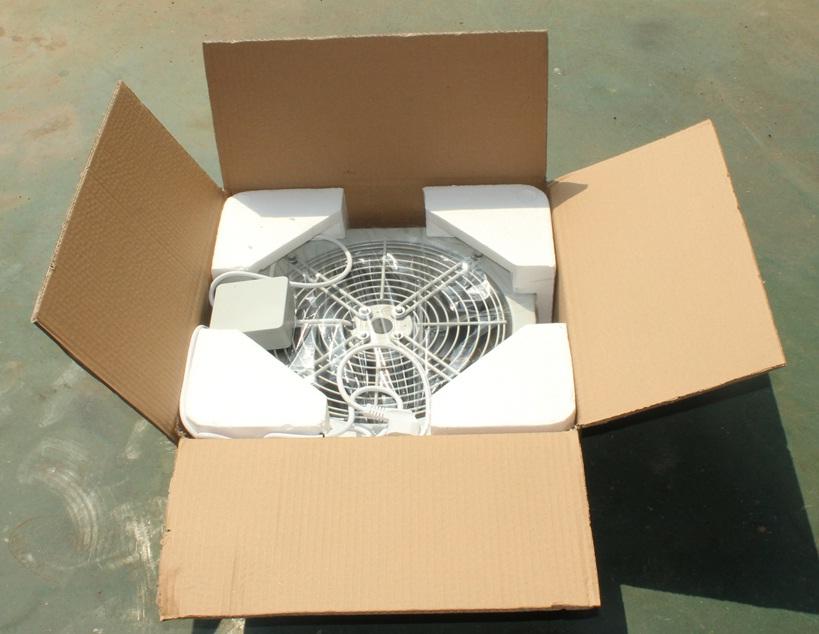 упаковка вентилятора осевого YWF4E-350B настенная панель