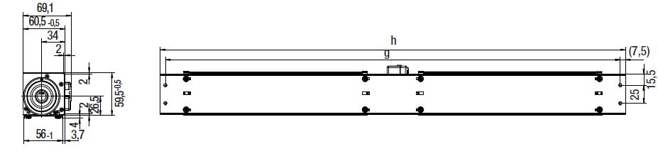 QL4/2525-2212 ebmpapst вентилятор чертеж
