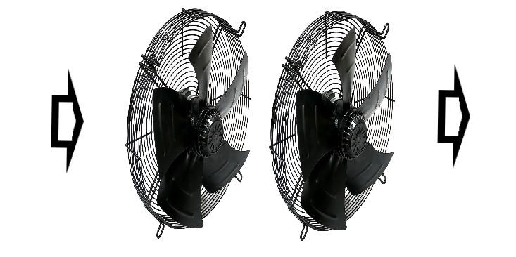 последовательная схема включения вентиляторов