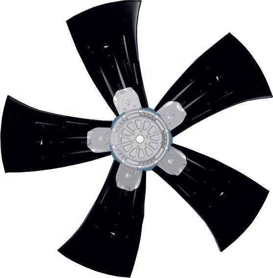 WZD910-GG03-01 осевой вентилятор ebmpapst