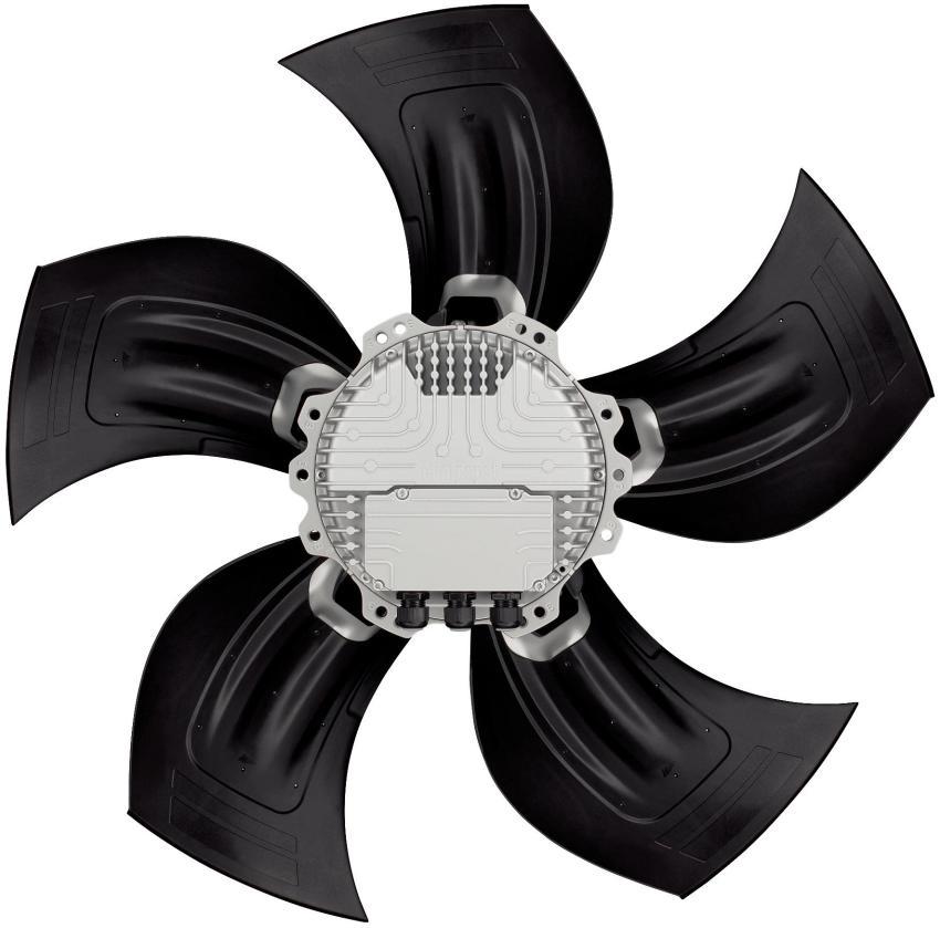 осевые вентиляторы ebmpapst