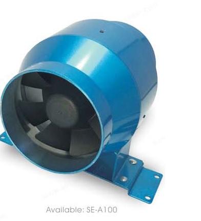 SE-A100 канальный вентилятор энергосберегающий