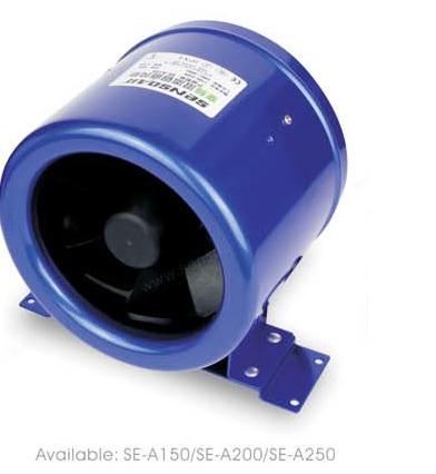 SE-A150 SE-A200 SE-A250 канальный вентилятор энергосберегающий
