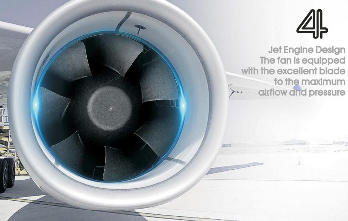 аэродинамика канального энергосберегающего вентилятора