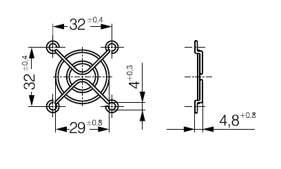 LZ29-1 ebmpapst решетка чертеж