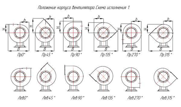 ВЦП 7-40 2,5 положение корпуса