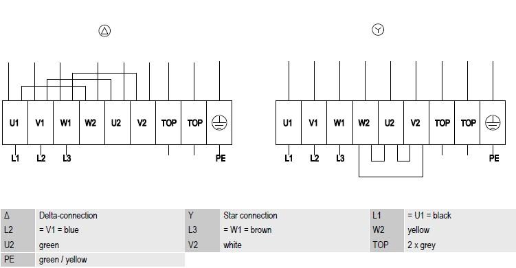R4D450-AD22-06 ebmpapst электрическая схема