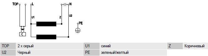 R4E280-CI01-01 ebmpapst электрическая схема