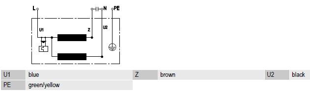 R4E310-AR06-01 ebmpapst электрическая схема