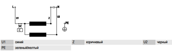 R2E133-BH66-05 ebm-papst електрическая схема