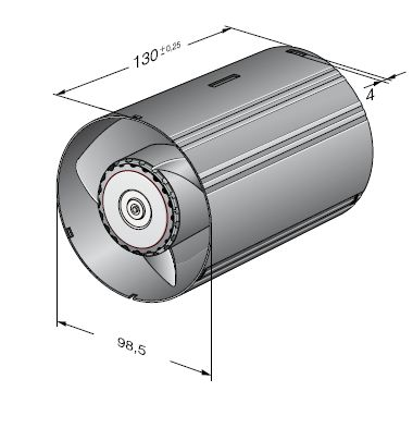 AC100NR ebmpapst вентилятор чертеж
