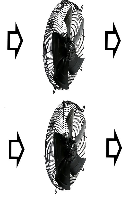 параллельное включение вентиляторов