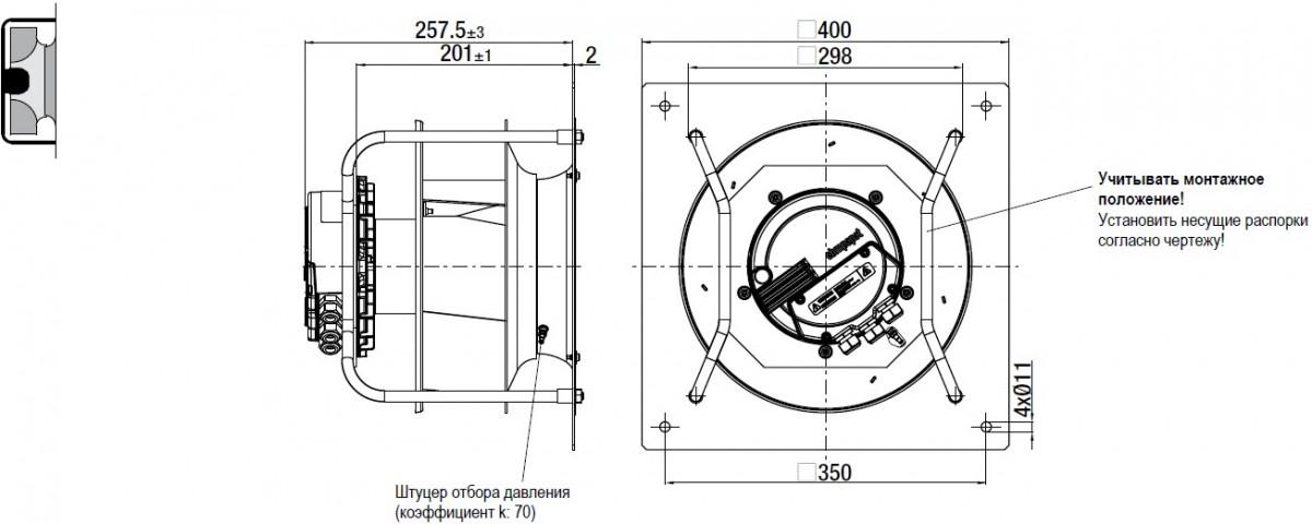 K3G250-AV29-B2 чертеж