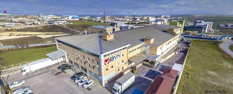 bahcivan завод Турция
