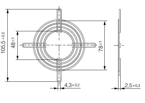 LZ22-2 защитная решетка ebmpapst
