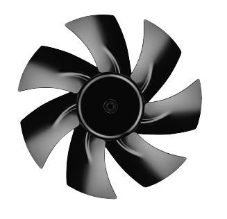 A2E250-AM06-01 230В 250мм осевой вентилятор ebmpapst