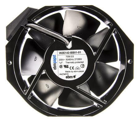 W2E142-BB01-01 230В 142мм осевой вентилятор ebmpapst