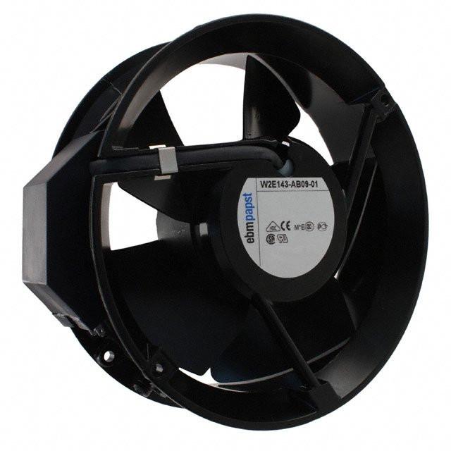 W2E143-AB09-01 230В 143мм осевой вентилятор ebmpapst