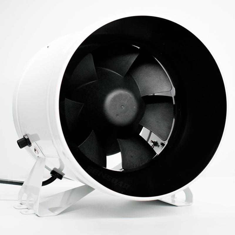 SE-A200 энергосберегающий круглый канальный вентилятор (1 фазный)