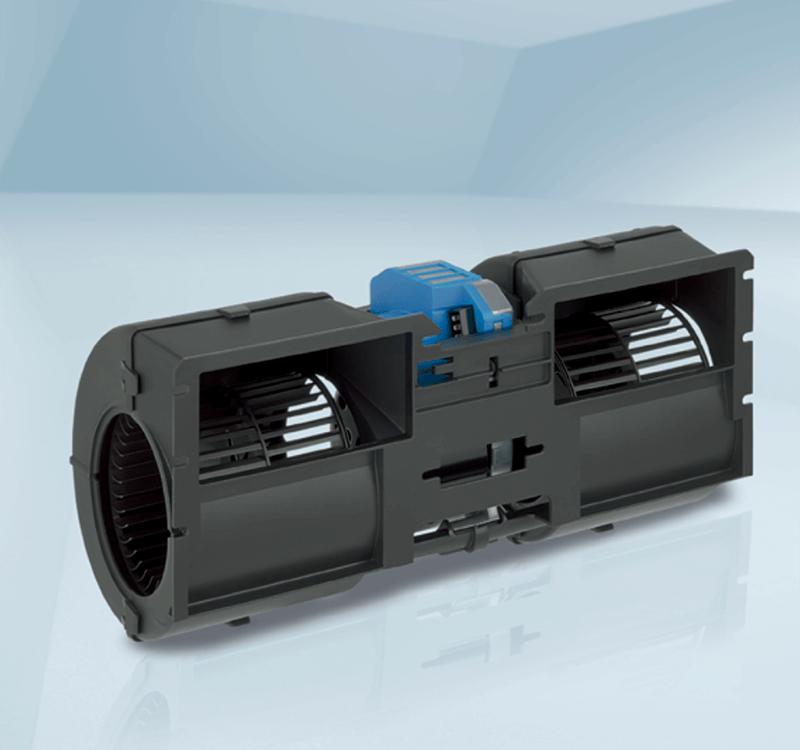 Двойной центробежный автомобильный вентилятор K3G097-AK34-65