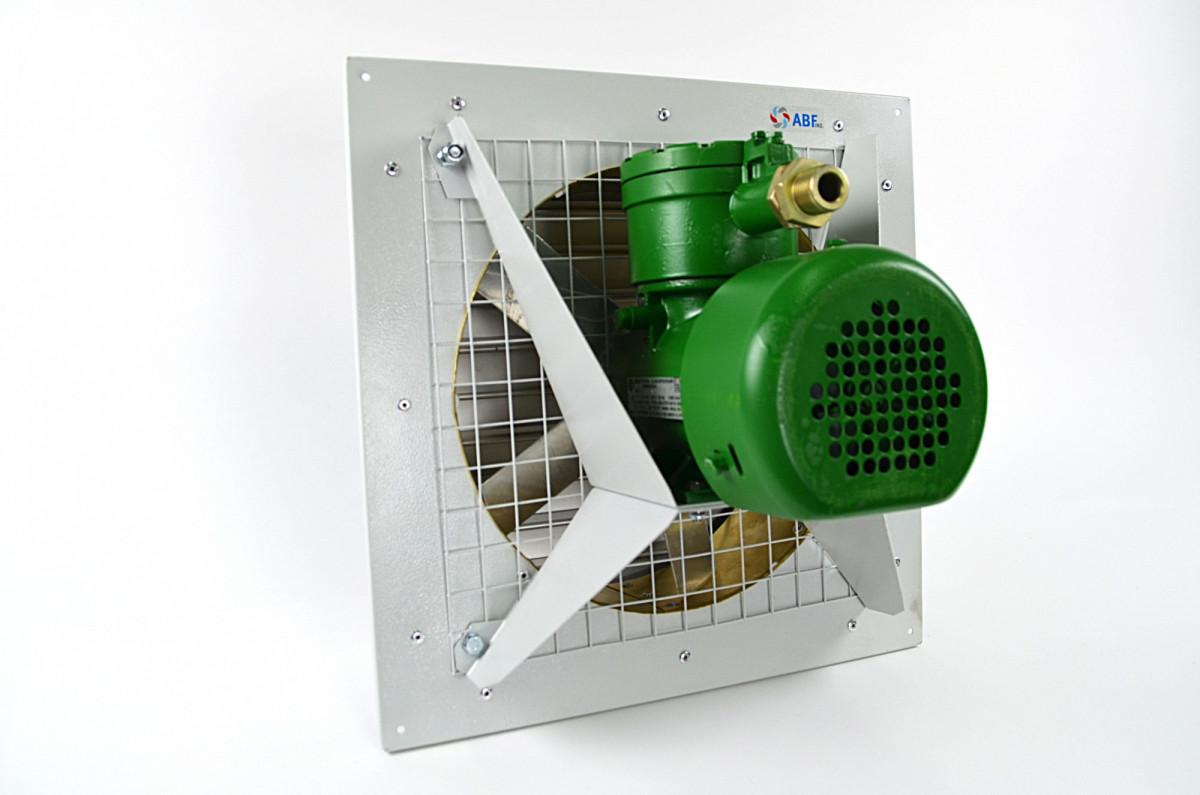 ВО-3,55 осевой вентилятор