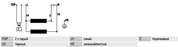 R6E450-RG01-01 ebmpapst электрическая схема